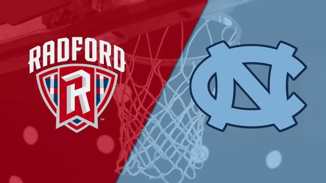 Radford vs. #3 North Carolina (M Basketball)