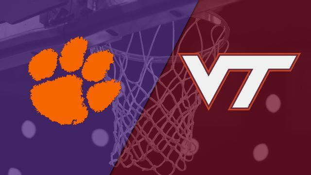 Clemson vs. Virginia Tech (M Basketball)
