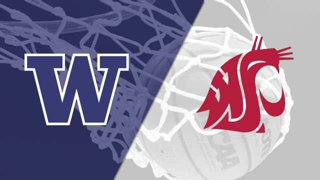 Washington vs. Washington State (M Basketball)