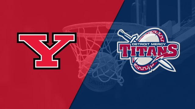 Youngstown State vs. Detroit Mercy (M Basketball)