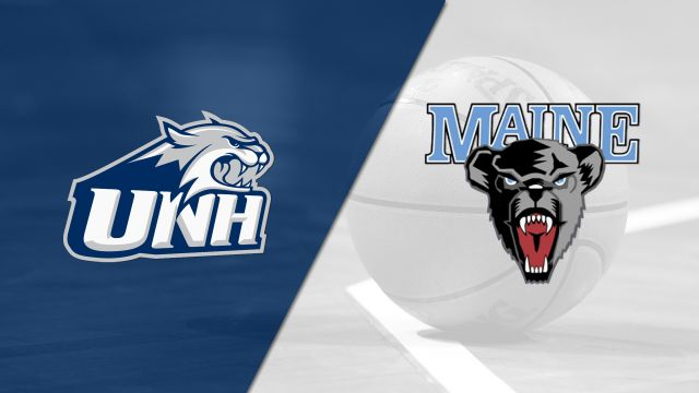 New Hampshire vs. Maine (M Basketball)