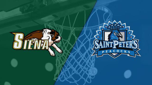 Siena vs. Saint Peter's (M Basketball)