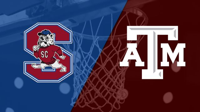 South Carolina State vs. Texas A&M (M Basketball)