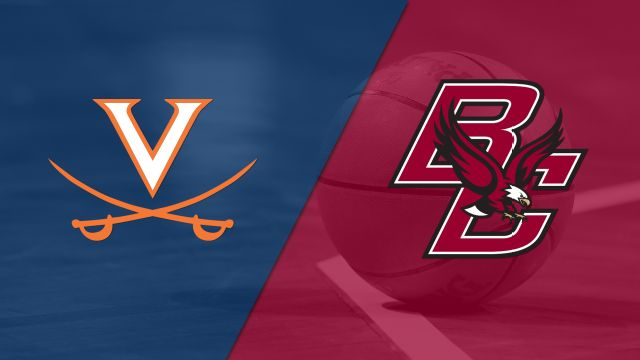 #16 Virginia vs. Boston College (M Basketball)