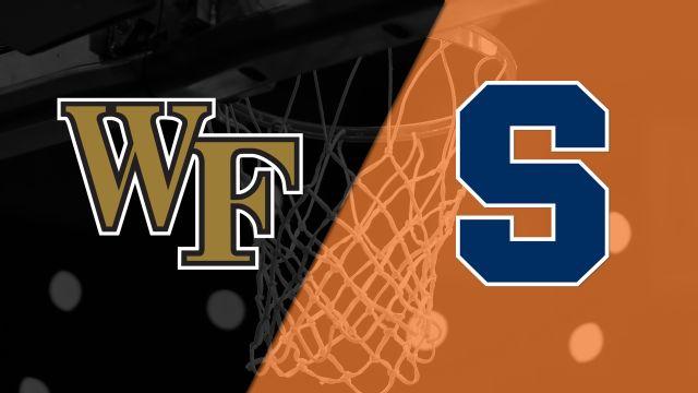 Wake Forest vs. Syracuse (M Basketball)