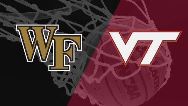 Wake Forest vs. Virginia Tech (Second Round, Game 3) (ACC Men's Tournament)