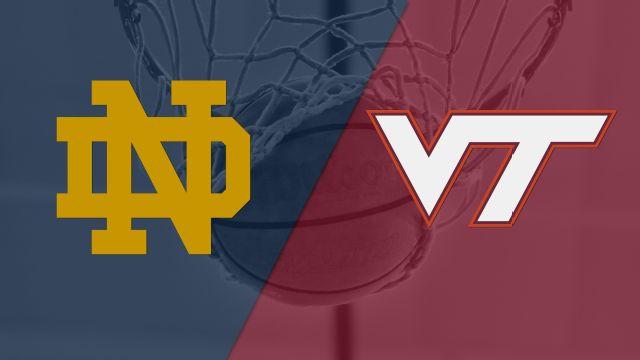#20 Notre Dame vs. Virginia Tech (M Basketball)