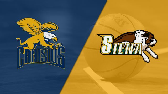 Canisius vs. Siena (M Basketball)