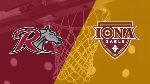 Rider vs. Iona (M Basketball)