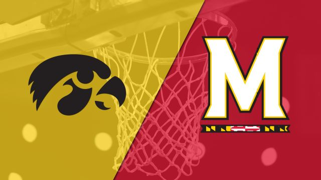 Iowa vs. #24 Maryland (M Basketball)