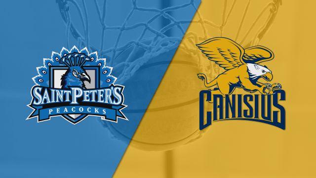 Saint Peter's vs. Canisius (M Basketball)