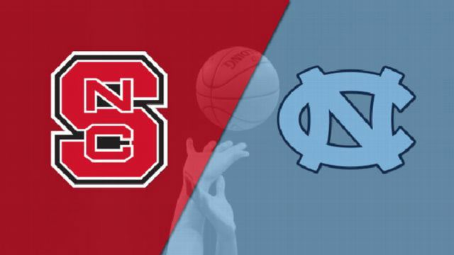 NC State vs. #14 North Carolina (M Basketball)