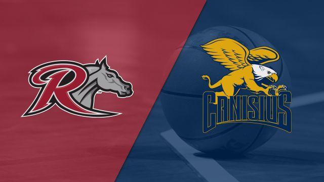 Rider vs. Canisius (M Basketball)