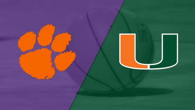 Clemson vs. Miami (M Basketball)