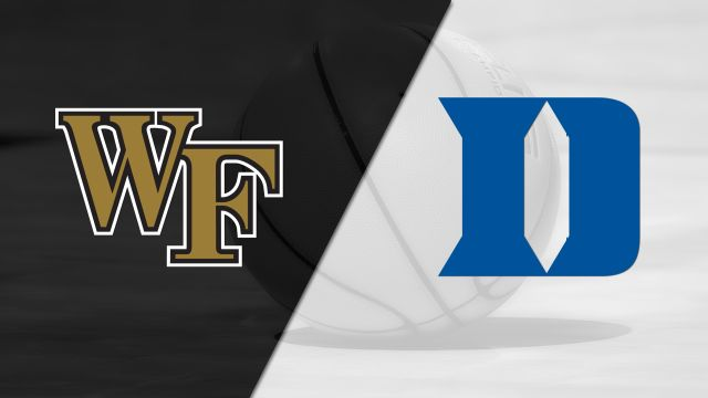 Wake Forest vs. #12 Duke (M Basketball)