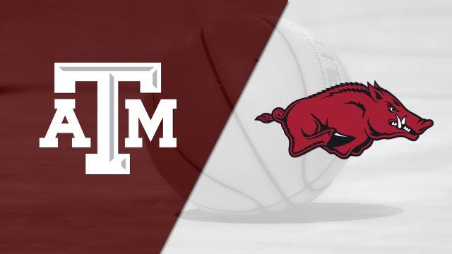 Texas A&M vs. Arkansas (M Basketball) (re-air)