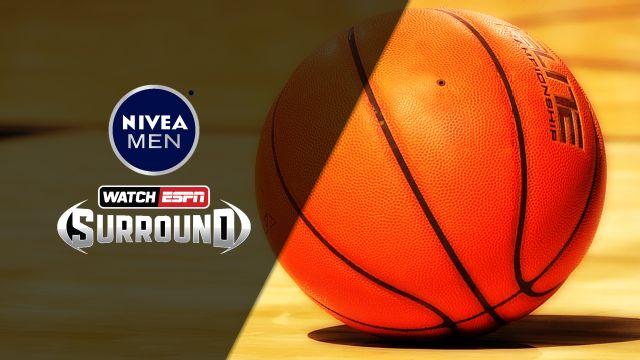 Nivea Above the Rim Cam - #17 Duke vs. #5 North Carolina (M Basketball)