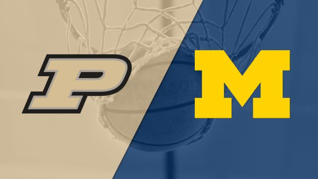 #14 Purdue vs. Michigan (M Basketball)
