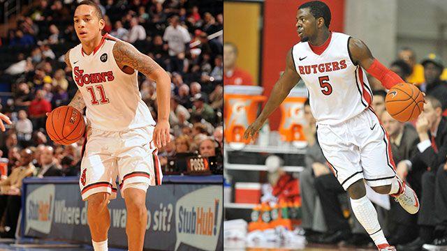 St. John's vs. Rutgers