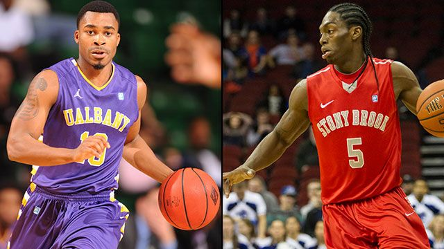 Albany vs. Stony Brook (Exclusive Semifinal #2): America East Men's Basketball Championship