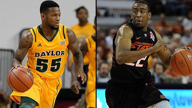 Baylor vs. #14 Oklahoma State (Quarterfinal #4): Big 12 Men's Basketball Championship
