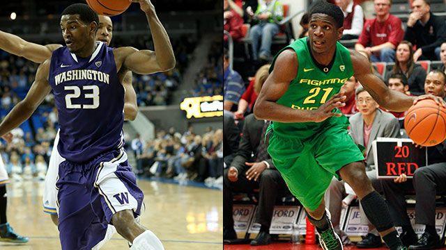 Washington vs. Oregon (Quarterfinal #4): PAC-12 Men's Basketball Tournament