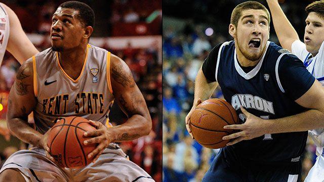 Kent State vs. Akron (Semifinal #1): MAC Men's Basketball Tournament
