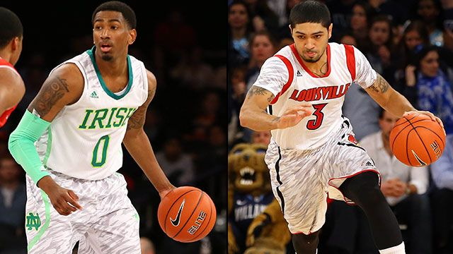 #24 Notre Dame vs. #4 Louisville (Semifinal #2): BIG EAST Men's Basketball Championship