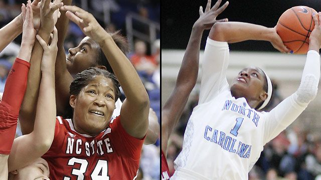 #20 NC State vs. #13 North Carolina (Exclusive)