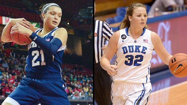 #2 Notre Dame vs. #3 Duke