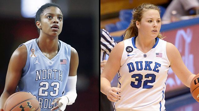 #17 North Carolina vs. #3 Duke