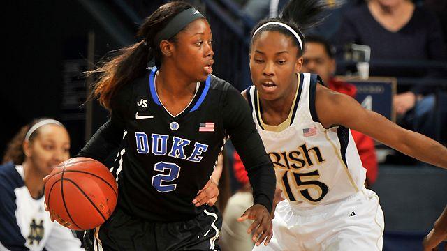 #7 Duke vs. #2 Notre Dame