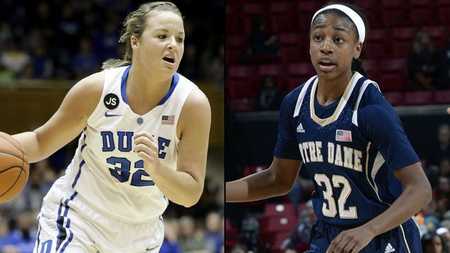 #10 Duke vs. #2 Notre Dame (Championship Game) (ACC Women's Tournament)