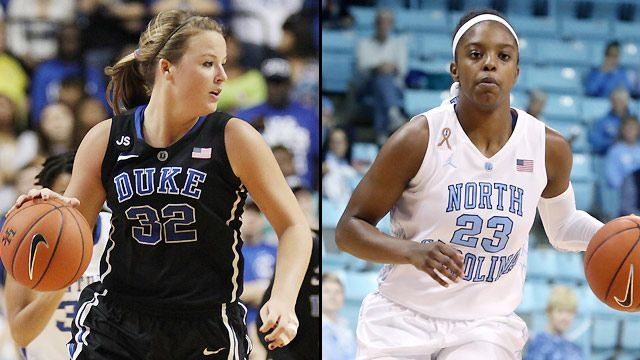 #7 Duke vs. #14 North Carolina