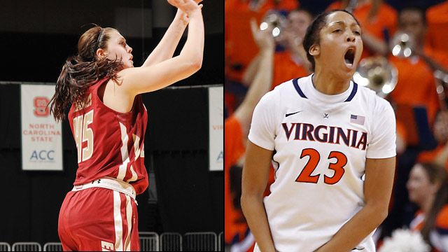 Boston College vs. Virginia (Game #2) (ACC Women's Tournament)