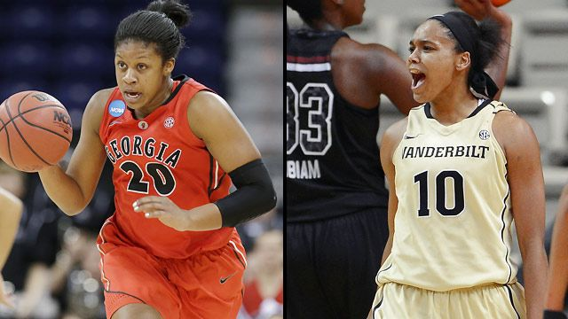 Georgia vs. Vanderbilt (Second Round, Game 1) (SEC Women's Tournament)