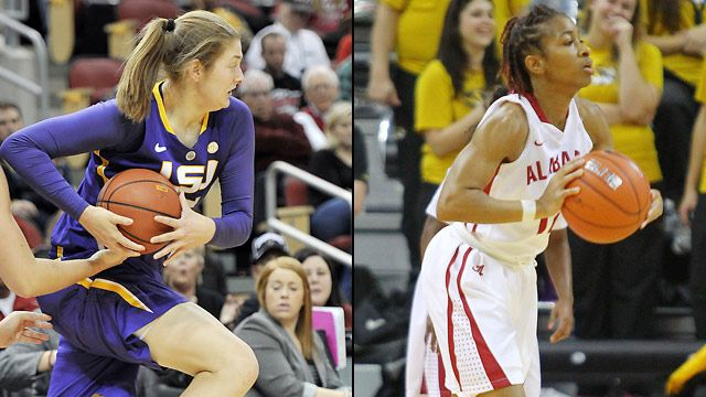 LSU vs. Alabama (Second Round, Game 3) (SEC Women's Tournament)