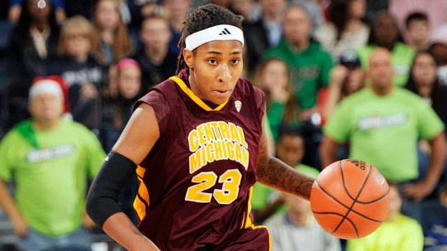 Akron vs. Central Michigan (Semifinal #2) (MAC Women's Tournament)