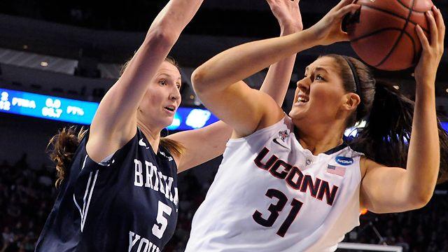#12 BYU vs. #1 Connecticut (Regional Semifinal) (NCAA Women's Championship)