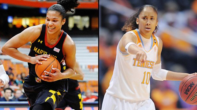 #4 Maryland vs. #1 Tennessee (Regional Semifinal) (NCAA Women's Championship)