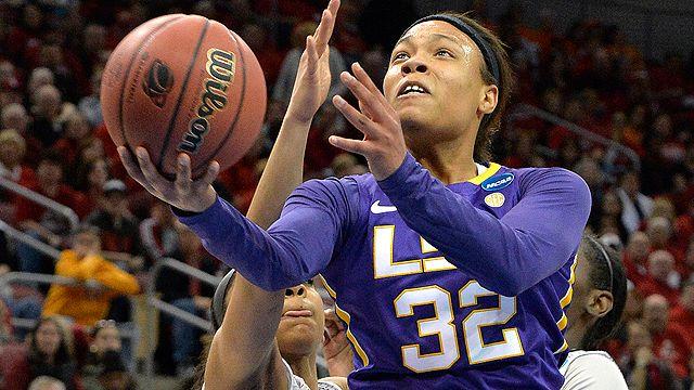 #7 LSU vs. #3 Louisville (Regional Semifinal) (NCAA Women's Championship)