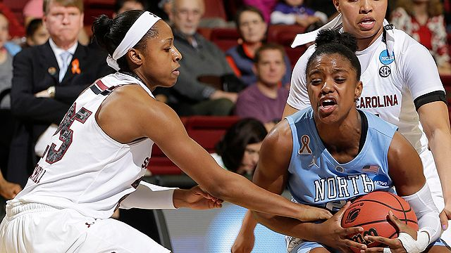 #4 North Carolina vs. #1 South Carolina (Regional Semifinal) (NCAA Women's Championship)