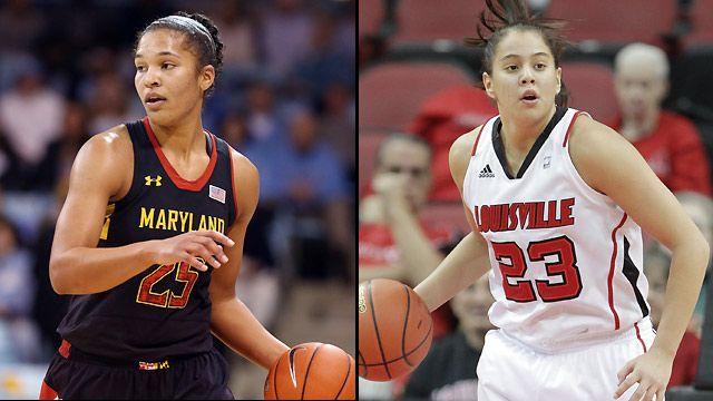 #4 Maryland vs. #3 Louisville (Regional Final) (NCAA Women's Championship)
