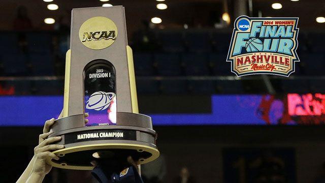 NCAA Women's Basketball Championship Trophy Presentation