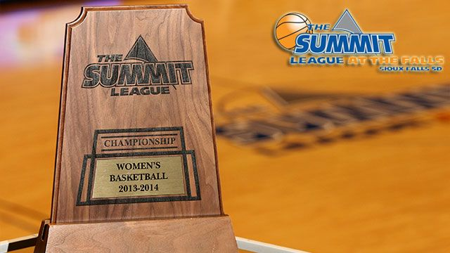 Summit League Women's Championship Trophy Presentation