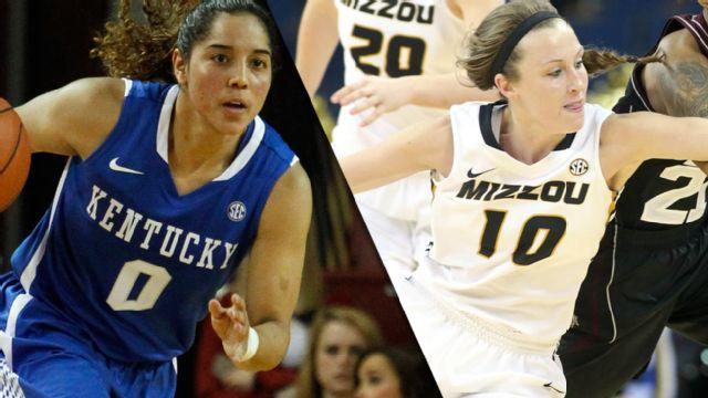 #14 Kentucky vs. Missouri (W Basketball)