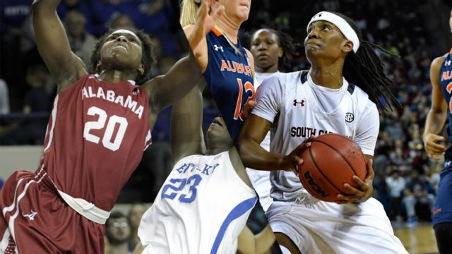 Alabama vs. #1 South Carolina (W Basketball)