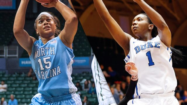 #15 North Carolina vs. #16 Duke (W Basketball)
