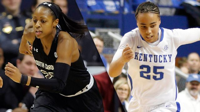 #2 South Carolina vs. #13 Kentucky (W Basketball)