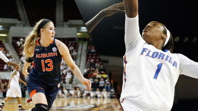 Auburn vs. Florida (First Round, Game 1) (SEC Women's Tournament) (re-air)